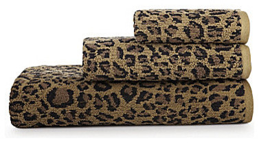 Bay Linens Animal Print Bath Towels Leopard Eclectic