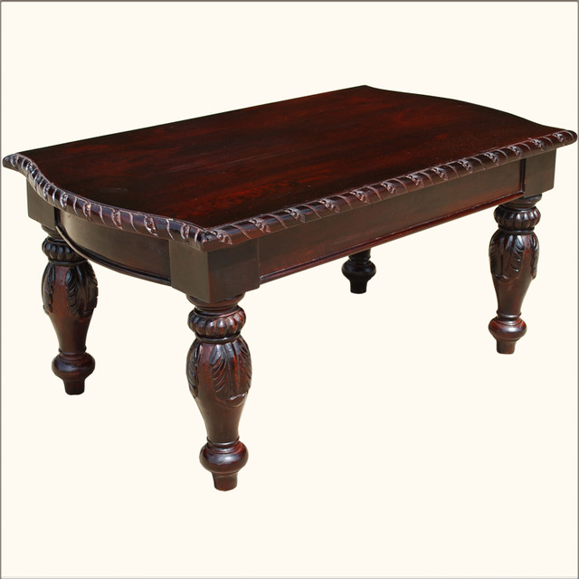 American empire wooden hand carved ornate coffee table victorian coffee tables austin by Hand carved coffee table