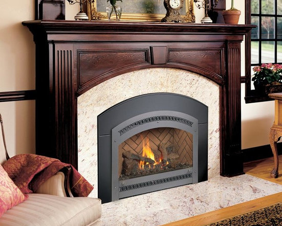 Fireplace Xtrordinair by Travis Industries - FPX DVL GreenSmart with Remote Gas Insert -