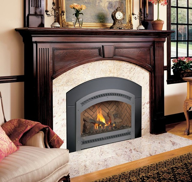 FPX DVL GreenSmart With Remote Gas Insert Traditional Indoor Fireplaces