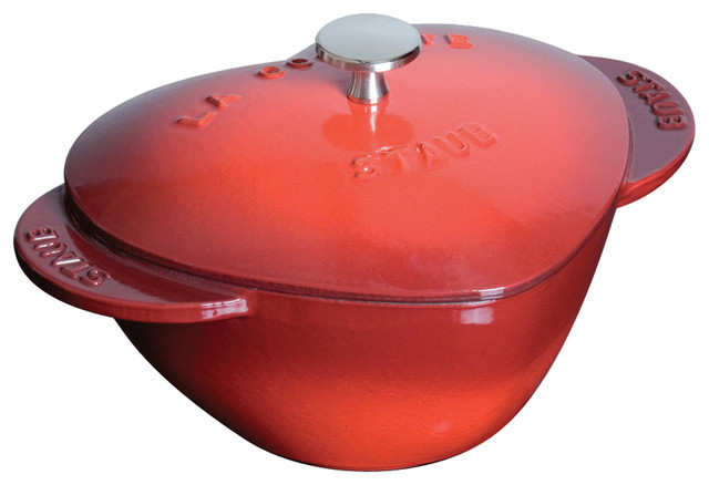 Staub Heart Shape Cocotte traditional-dutch-ovens-and-casseroles