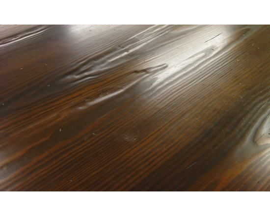 Distressed Wood Countertop -