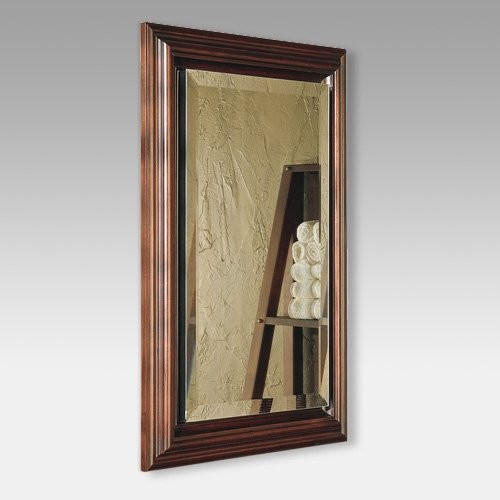 Broan-Nutone Gallery Deluxe Framed 15W x 35H in. Recessed Medicine Cabinet 72SS3 - Contemporary ...