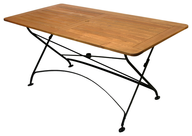 Outdoor Folding Table : Felicia folding rectangle table - Mediterranean - Folding Tables ...