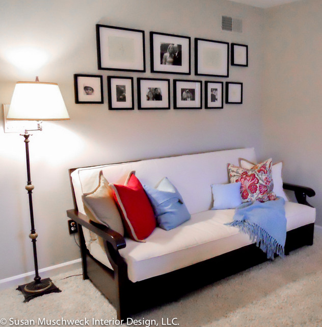 Small Living Room Office With Futon