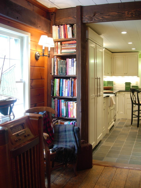 New Kitchen in Historic Home traditional-living-room