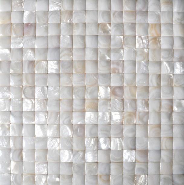 Mother of pearl tile backsplash sea shell mosaic bathroom tiles MOP023 3D mosaic modern-mosaic-tile