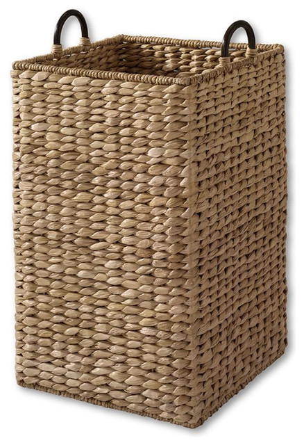 Large Grand Portage Seagrass Bin tropical-wastebaskets
