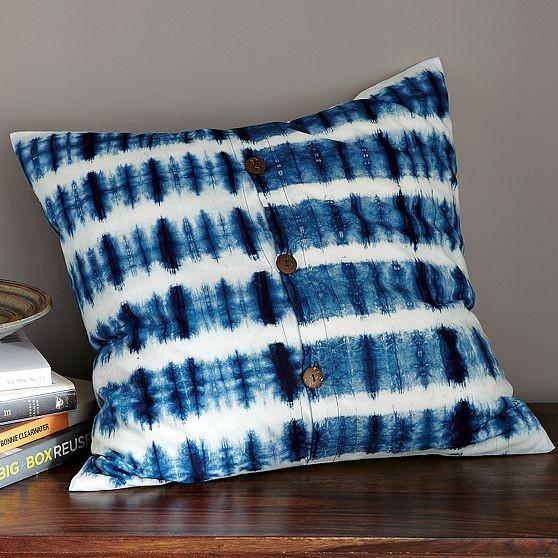 Indigo Stripe Pillow Cover modern-decorative-pillows