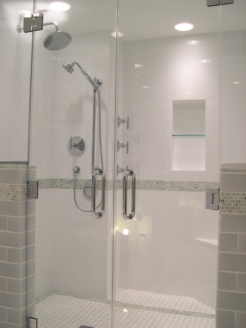 Universal Design Shower Contemporary Bathroom Dc Metro By Glickman Design Build Llc