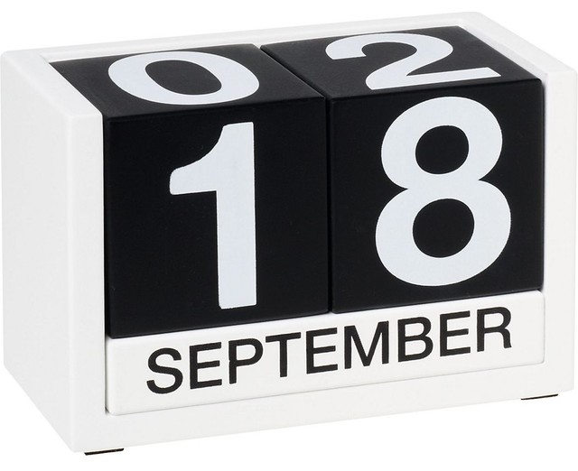 Wooden Perpetual Calendar Home Products on Houzz