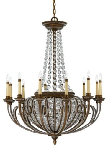 Empire Chandelier traditional-chandeliers