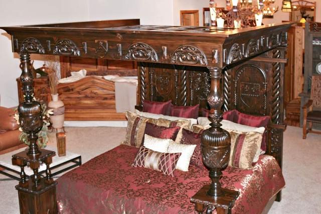 Bedroom Furniture eclectic-beds