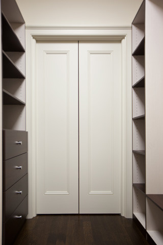 Pocket Doors Traditional Closet Toronto By K N