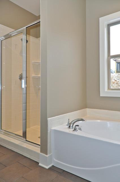 Signature Homes Master Bathroom at Regent park bathroom