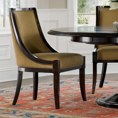 brownstone sienna dining chair set of 2 contemporary dining chairs