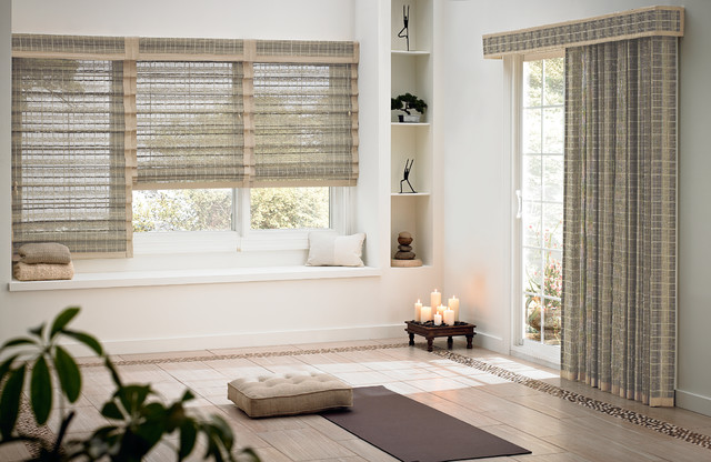 Bali natural drapes caracas highpoint ridge asian for Asian window coverings