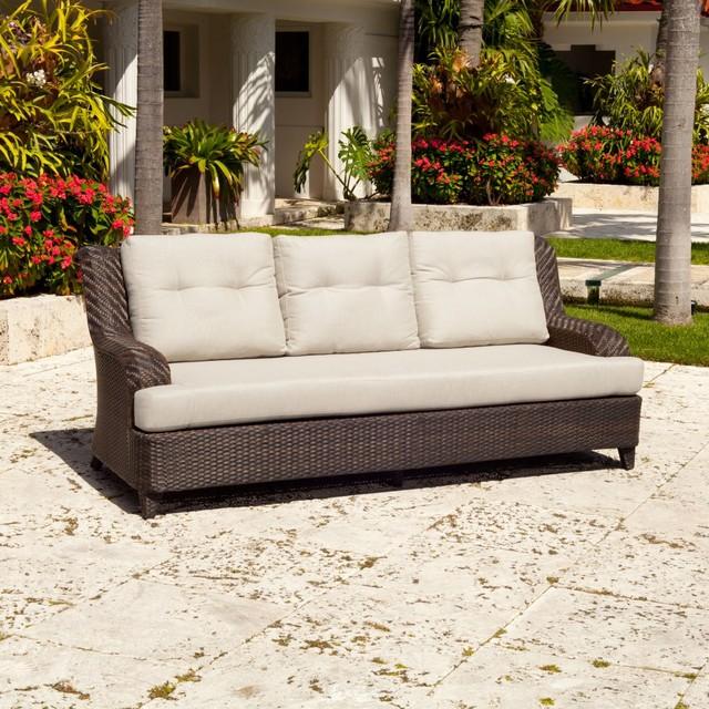 Source Outdoor Tahiti All Weather Wicker Sofa