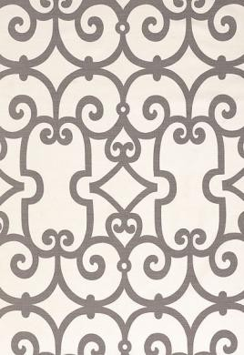 Manorgate in Charcoal Fabric modern-fabric