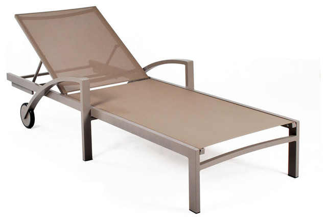 John Kelly Furniture - Rho Chaise Lounge - Modern - Patio ...