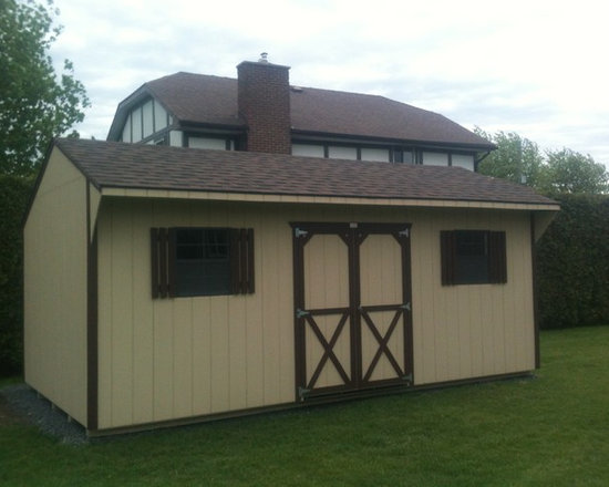 Garden Sheds - Quaker Style Storage Shed by North Country Sheds