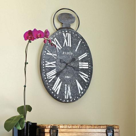 Paris Wall Clock traditional-clocks