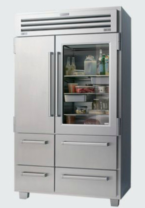 PRO 48 with Glass Door modern refrigerators and freezers