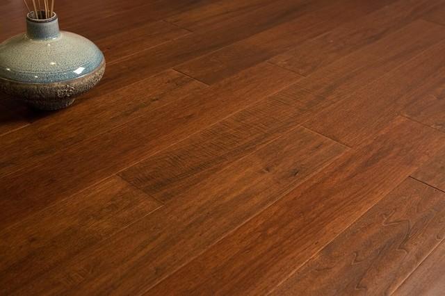 Red Walnut Wood Flooring Sample modern-hardwood-flooring