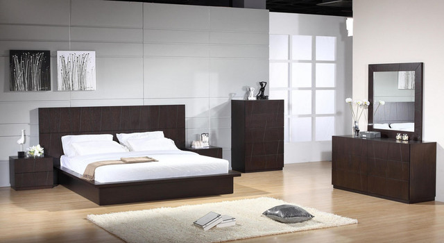 Elegant wood luxury bedroom furniture sets contemporary for Bedroom furniture furniture