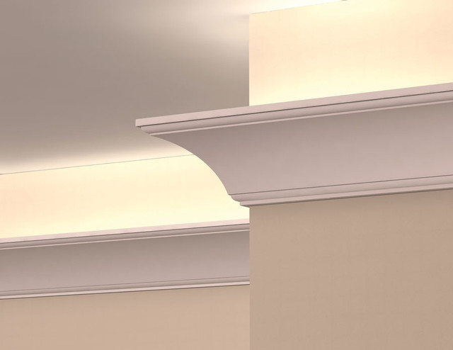 LC2005 - Interior Plaster Light Cove Crown Moulding - Molding And Trim - by Mouldex Exterior ...