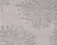 Bombay Gray/Blue Rug modern-rugs