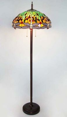 stained glass floor lamp victorian floor lamps by ruby plaza. Black Bedroom Furniture Sets. Home Design Ideas