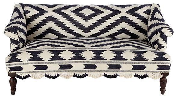 wooden upholstered bridal sofa | Wisteria mediterranean-sofas
