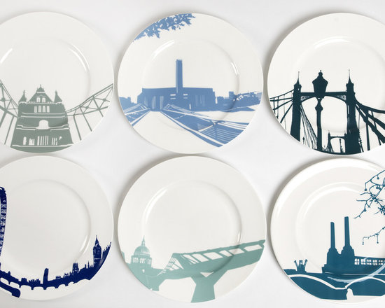 River Series Plates From Snowden Flood -