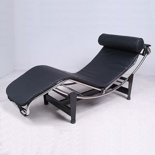 Le corbusier chaise lounge reproduction leather moderne chaise longue e - Meridienne le corbusier ...