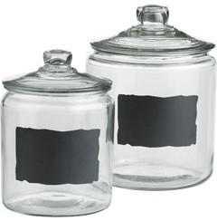 Chalkboard Jars contemporary-kitchen-canisters-and-jars