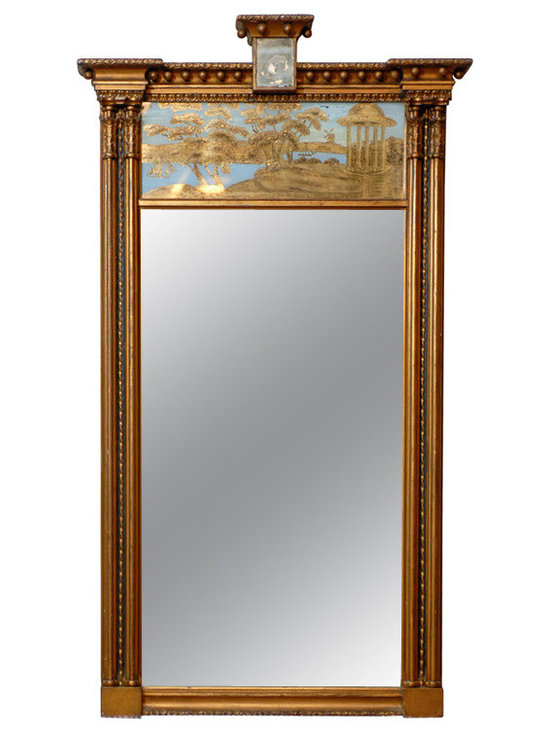 Current Inventory for Purchase - Regency Trumeau Mirror