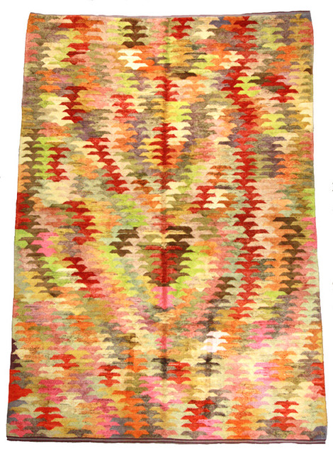 Re-Woven Turkish Rug eclectic-rugs