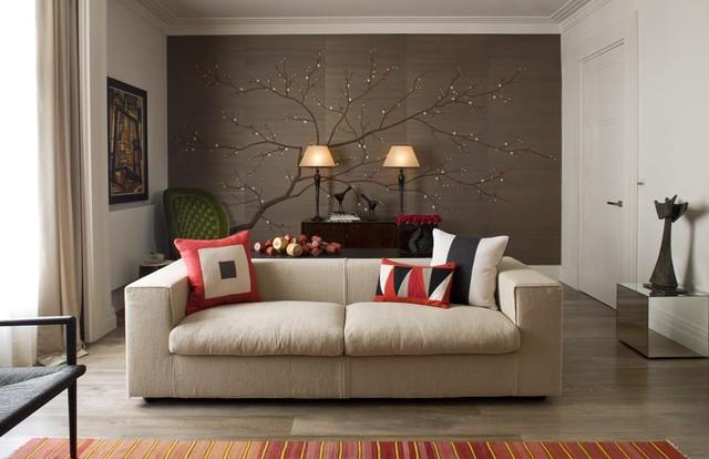 Cherry Blossom, Custom Colorway asian-wallpaper