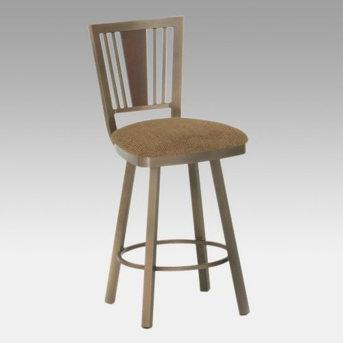 Amisco 26 Inch Madison Swivel Counter Stool Granite Contemporary Bar Stools And Counter