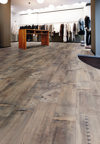 Kaindl laminate floor modern laminate flooring san for Laminate flooring designs