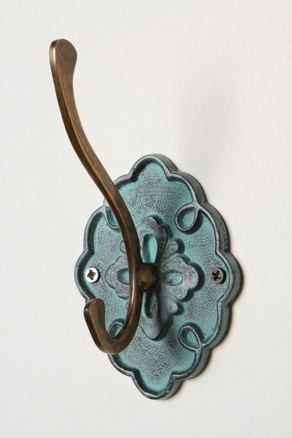 Bract Hook - Anthropologie.com eclectic hooks and hangers