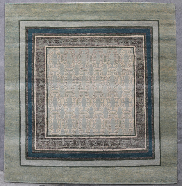 Natural-Dye Tibetan eclectic rugs