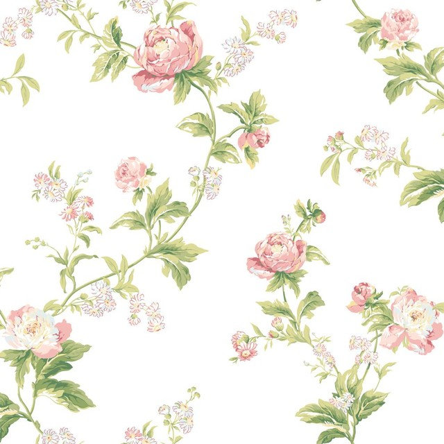 waverly wallpaper wa7753 forever your trails floral