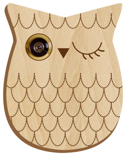 Owl Peephole eclectic accessories and decor