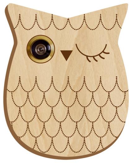 Owl Peephole eclectic-home-decor