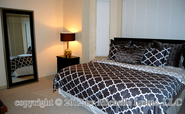 Texas Rangers Townhome 2 contemporary-bedroom