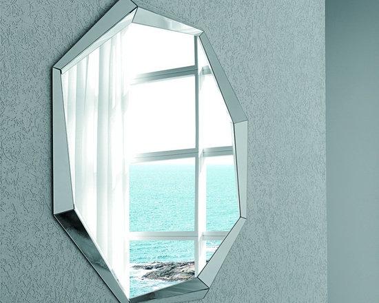 Emerald Wall Mirror by Cattelan Italia -