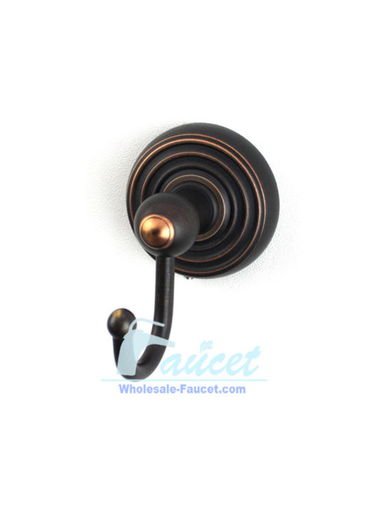 Robe Hook - ●Wall mounted oil rubbed bronze bathroom robe hook K-112