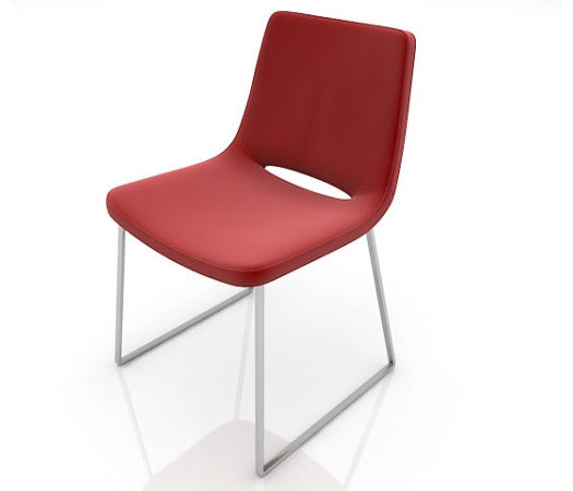 Nevada Flat Dining Chair By SohoConcept modern-dining-chairs